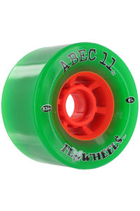 ABEC 11 Flywheels 83mm 81a Rollen 4er Pack  (green)