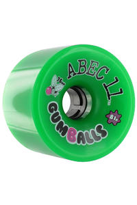ABEC 11 Gumballs 76mm 81a Rollen 4er Pack  (green)