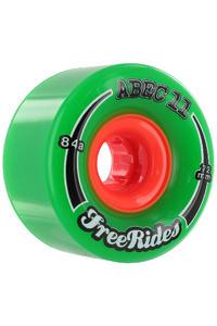 ABEC 11 Classic Freeride 72mm 84a Rollen 4er Pack  (green)