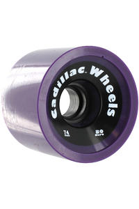 Cadillac Wheels 74mm 80a Rollen 4er Pack  (purple)