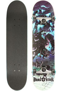 "Darkstar Falls 7.5"" Komplettboard (light blue silver)"