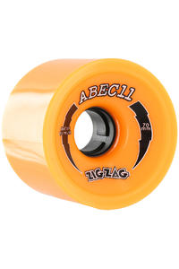 ABEC 11 Retro Zig Zags 70mm 86a Rollen 4er Pack  (orange)