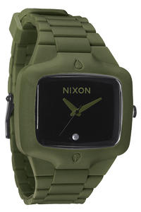 Nixon The Rubber Player Uhr (matte black surplus)