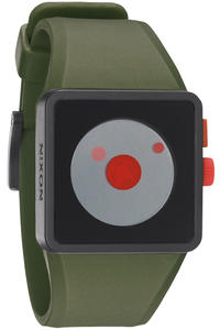 Nixon The Newton Uhr (surplus black red)