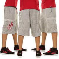 Red Dragon OG Mesh Shorts (light grey)