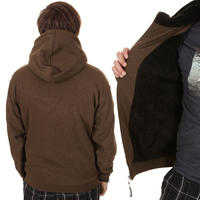 Trap Skateboards Norway Zip-Hoodie (brown black)