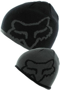 Fox Streamline Beanie reversible  (black)