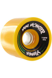 Landyachtz Hawgs Mini Monster 70mm 82a Wheel 4er Pack  (yellow)