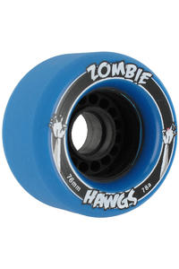 Landyachtz Hawgs Zombies 76mm 78a Wheel 4er Pack  (solid blue)