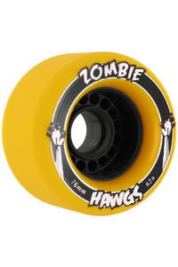 Landyachtz Hawgs Zombies 76mm 82a Wheel 4er Pack  (yellow)