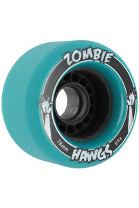 Landyachtz Hawgs Zombies 76mm 84a Wheel 4er Pack  (turquoise)
