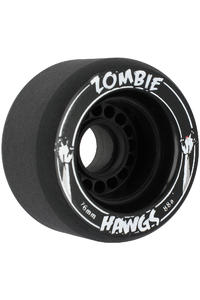 Landyachtz Hawgs Zombies 76mm 88a Wheel 4er Pack  (black)