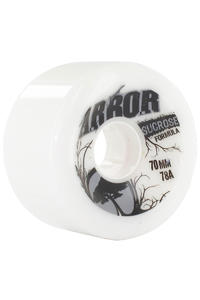 Arbor Durometer 70mm 78A Wheel 4er Pack  (white)