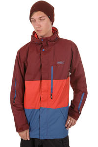 WeSC Manuel Snowboard Jacket (rusty red)