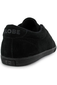 Globe Lighthouse Slim Suede Shoe (black black)