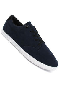 Globe Lighthouse Slim Suede Shoe (navy white)