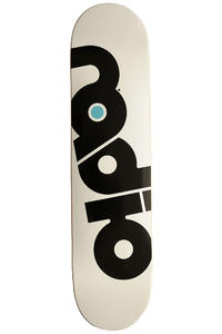 "Radio OG Logo 7.625"" Deck (white)"