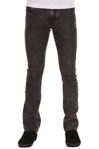 REELL Skin Stretch Jeans (black acid wash)