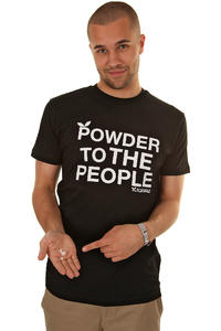Playboard Powder To The People T-Shirt (black)