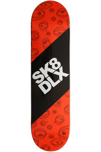 "SK8DLX Lenny 8"" Deck (orange)"