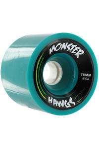 Landyachtz Hawgs Monster 76mm 84a Wheel 4er Pack  (turquoise)
