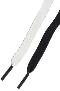 Mr. Lacy Clubbies Laces (black white)