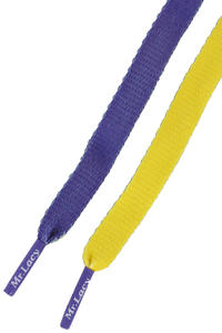 Mr. Lacy Clubbies Laces (violet yellow)