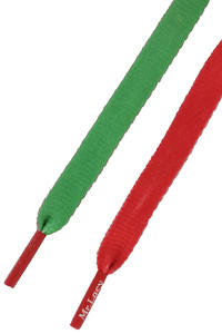 Mr. Lacy Clubbies Laces (kelly green red)