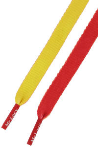 Mr. Lacy Clubbies Laces (yellow red)