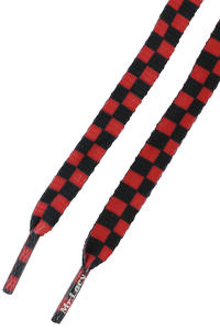 Mr. Lacy Printies Schnürsenkel (red black)