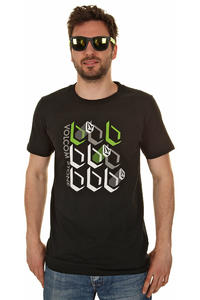 Volcom Perfectly Stacked T-Shirt (black)