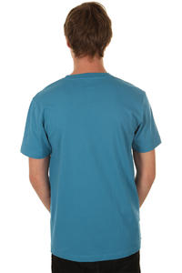 Cleptomanicx Toast T-Shirt (port blue)