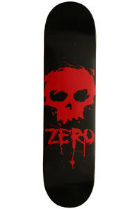 Zero Team Blood Skull 7.75&quot; Deck (black red)