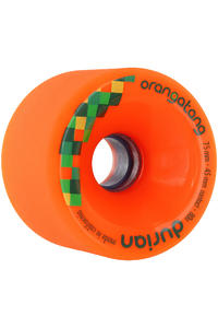 Orangatang Durian 75mm 80A Wheel 4er Pack  (orange)