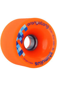Orangatang Stimulus 70mm 80A Wheel 4er Pack  (orange)