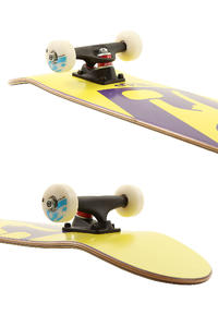 "Trap Skateboards Truck Logo A SP'11 7.5"" Komplettboard (yellow purple)"