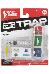 Trap Skateboards Sticky Fingers &quot;3 Logo&quot; Fingerboard