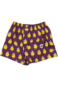 Lousy Livin Underwear Zitrone Boxershorts (purple)