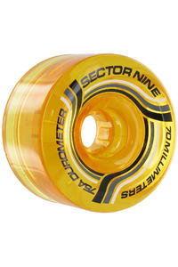 Sector 9 Nineballs 70mm 75a Rollen 4er Pack  (yellow)