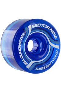 Sector 9 Nineballs 70mm 75a Wheel 4er Pack  (blue)