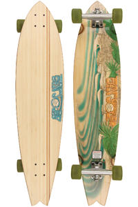 Sector 9 Rincon - Bamboo Series 9.375&quot; x 38&quot; Complete-Longboard