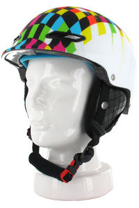 Quiksilver Wild Cat Snow-Helm (chek white 57t)