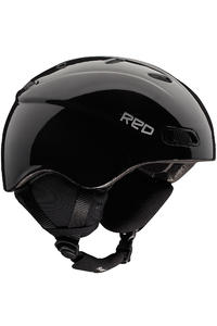 RED Reya Classic Snow-Helm girls (black)