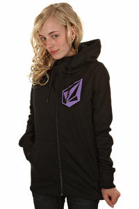 Volcom Stade Snow Zip-Hoody girls (black)