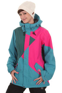 Volcom Archers Snowboard Jacke insulated  girls (peacock)