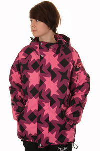 Nikita Lapland Snowboard Jacke girls (sunkist coral)
