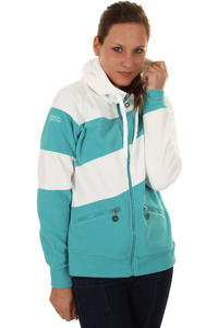 Nikita Athena Snow Zip-Hoodie girls (white scuba blue)