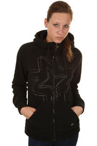 Nikita Atla Snow Zip-Hoody girls (black)