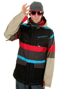 Special Blend Circa Snowboard Jacke (tan lines faded out stripes)