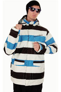 Special Blend Circa Snowboard Jacket (south beach big stripes)
